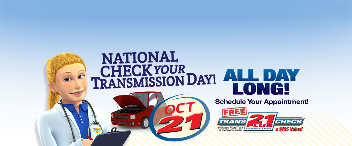 Nati                 onal Check Your Transmission Day